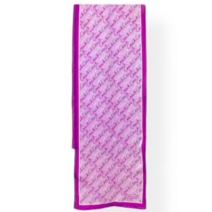 Authentic Coach silk scarf